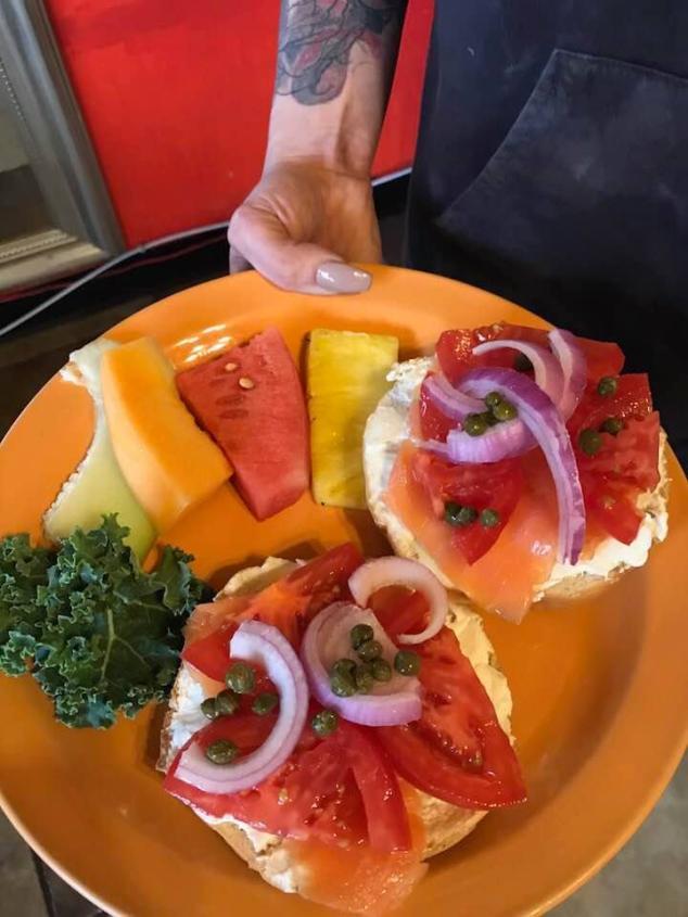 Bagel Plate